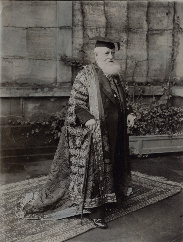 George Frederick Samuel Robinson, 1st Marquess of Ripon and 3rd Earl de Grey, by Joseph Rosemont, 1908 - NPG x137211 - © National Portrait Gallery, London