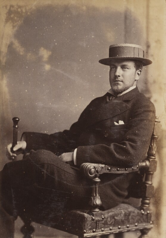 Philippe, 9th Duc d'Orleans, by Unknown photographer, circa 1894 - NPG P1700(9b) - © National Portrait Gallery, London