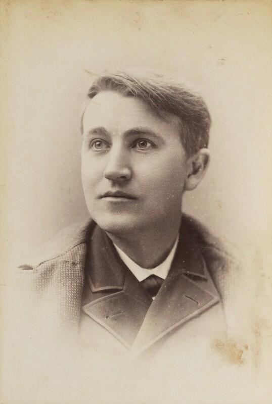 Thomas Alva Edison, by Unknown photographer,  - NPG P1700(11b) - © National Portrait Gallery, London