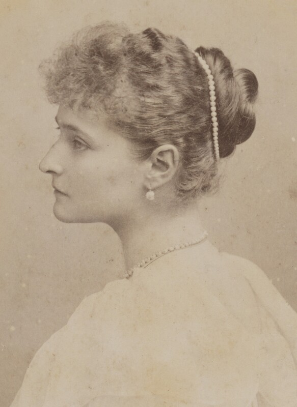 Alexandra, Empress of Russia (née Princess Alix of Hesse and by Rhine), by Hughes & Mullins, August 1894 - NPG P1700(13b) - © National Portrait Gallery, London