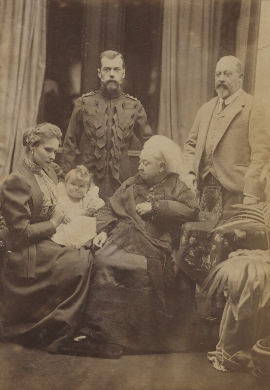 Royal group at Balmoral, by Robert Milne, September 1896 - NPG P1700(24d) - © reserved; collection National Portrait Gallery, London