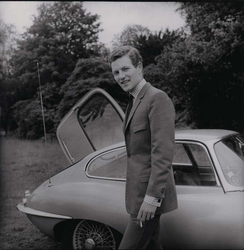 Patrick Lichfield, by Francis Goodman, 1964 - NPG x195008 - © National Portrait Gallery, London