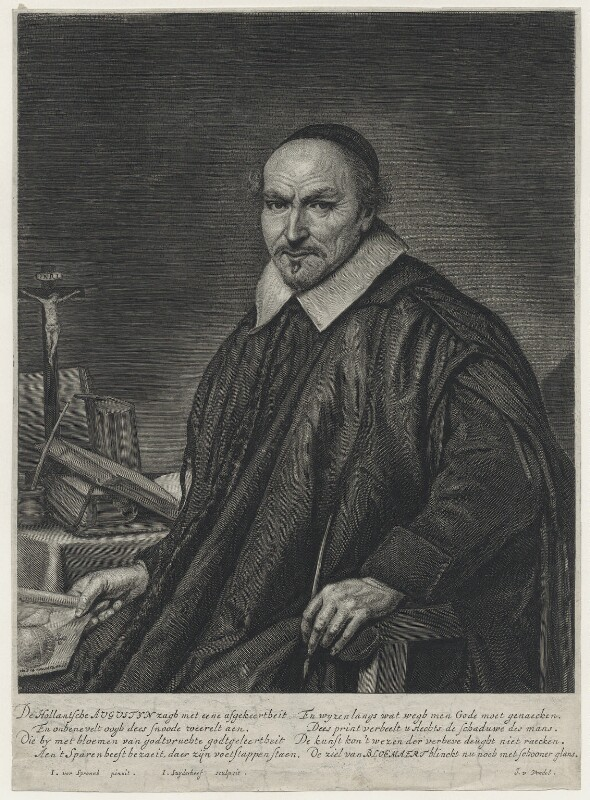 Augustyn Alsten Bloemaert, by Jonas Suyderhoef, after  Johannes Cornelius Verspronck, text written by  Joost van den Vondel, 1623-1686 - NPG D42704 - © National Portrait Gallery, London