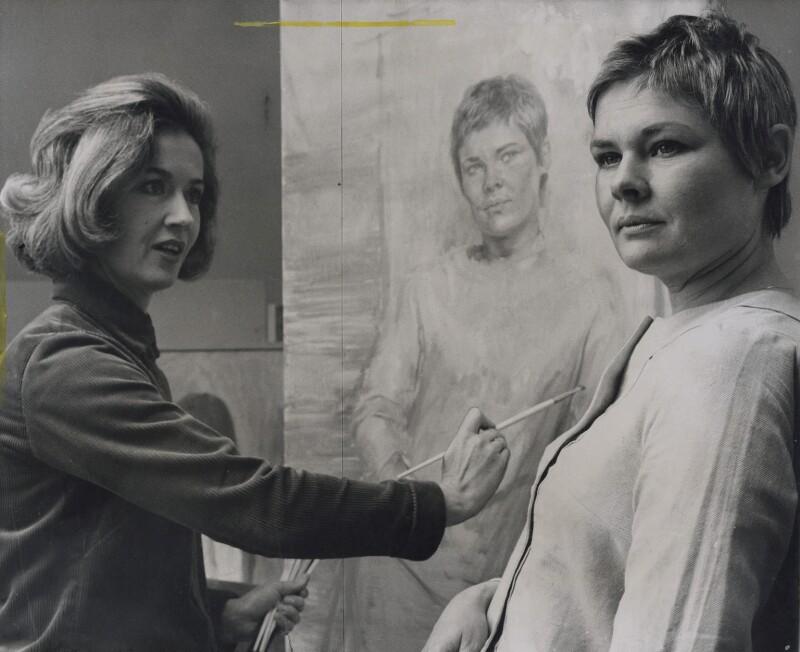 June Mendoza; Judi Dench, by Press Association Photos, September 1968 - NPG x184029 - © Press Association