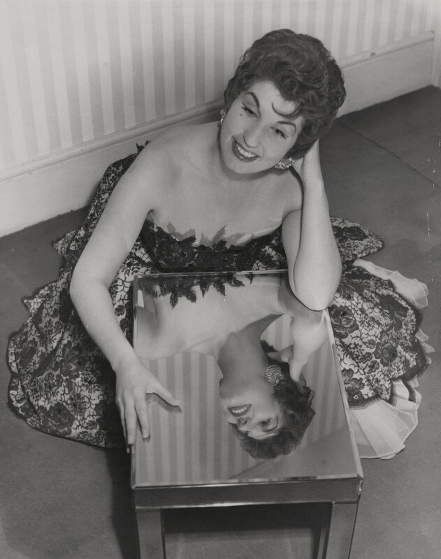 Alma Cogan, by Planet News, December 1954 - NPG x184113 - © reserved; collection National Portrait Gallery, London