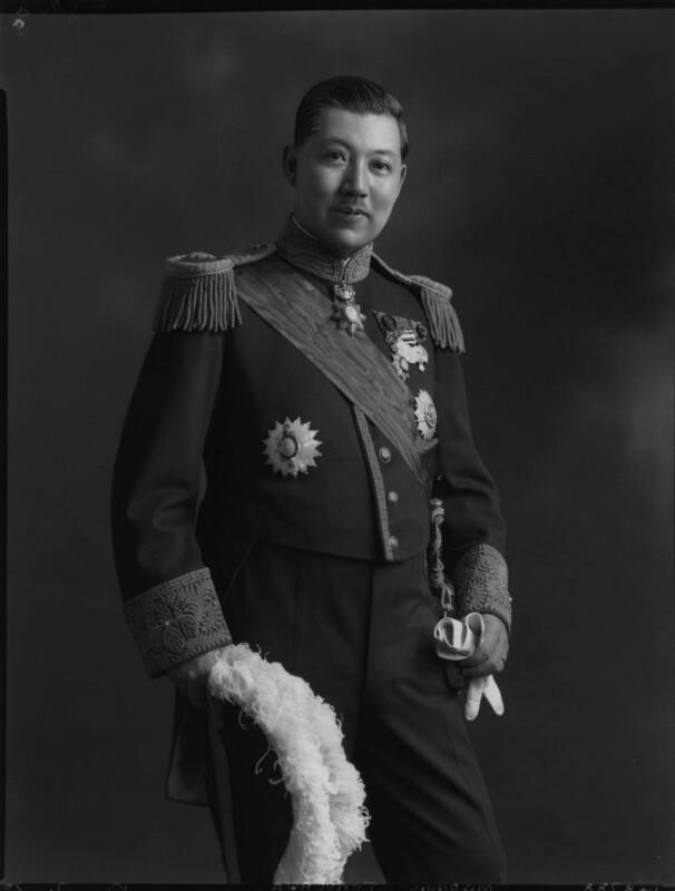 Probably Marquis Yorisade Tokugawa, by Lafayette, 10 July 1930 - NPG x70497 - © National Portrait Gallery, London