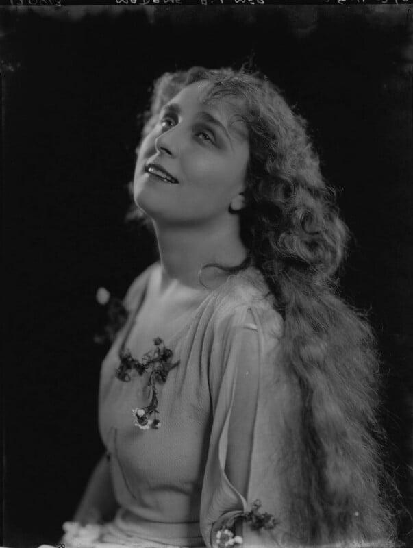 Madame Aylmer, by Lafayette (Lafayette Ltd), 28 April 1926 - NPG x184482 - © National Portrait Gallery, London