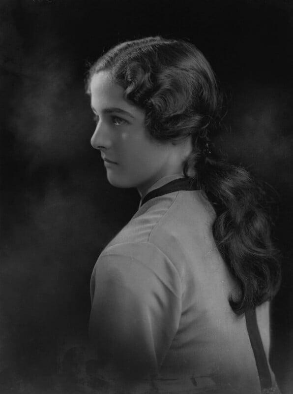 Sheelah Annette Treherne (née Browne), by Lafayette, 22 May 1926 - NPG x184485 - © National Portrait Gallery, London