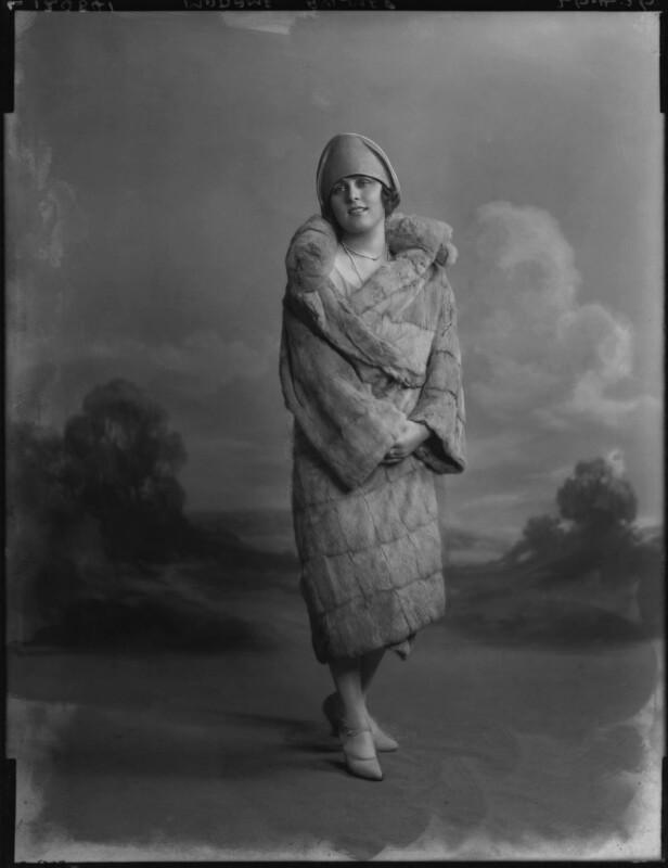 Madame Aylmer, by Lafayette (Lafayette Ltd), 26 April 1926 - NPG x184487 - © National Portrait Gallery, London