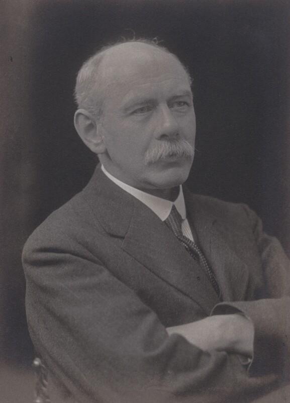 William Henry Somervell, by Walter Stoneman, 1918 - NPG x185389 - © National Portrait Gallery, London