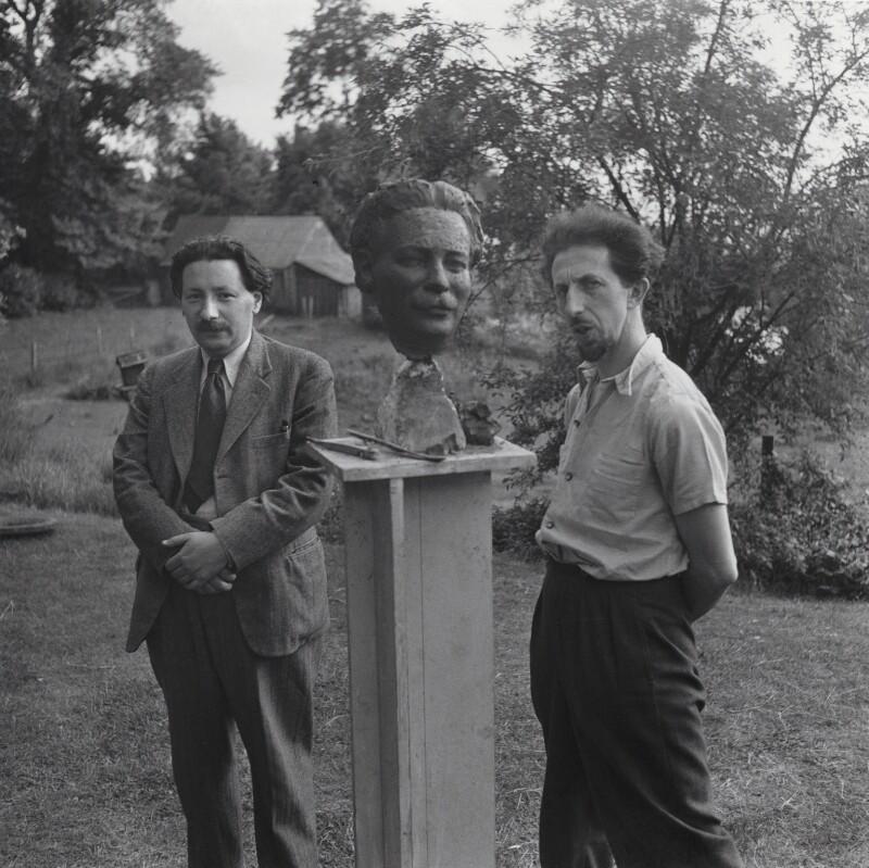 Sir Ernst Chain; Oscar Nemon, by Francis Goodman, 1944 - NPG x195040 - © National Portrait Gallery, London