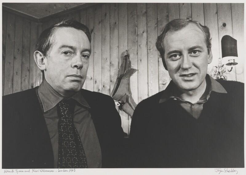 Kenneth Peacock Tynan, Nicol Williamson, by Jurgen Schadeberg, 1968 - NPG x137290 - © Jurgen Schadeberg / National Portrait Gallery, London