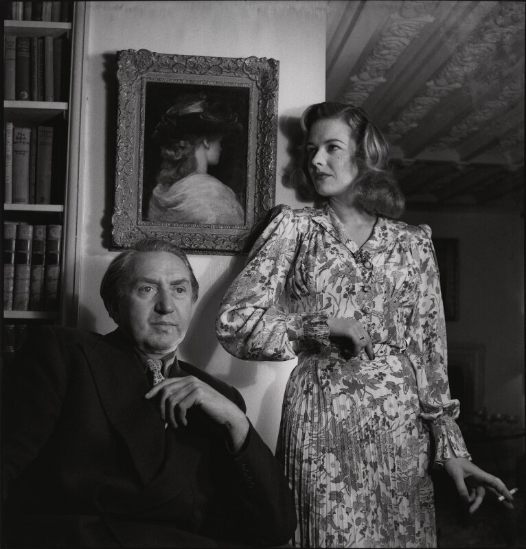 Brian Desmond Hurst; Sally Gray, by Francis Goodman, 14 June 1947 - NPG x195050 - © National Portrait Gallery, London