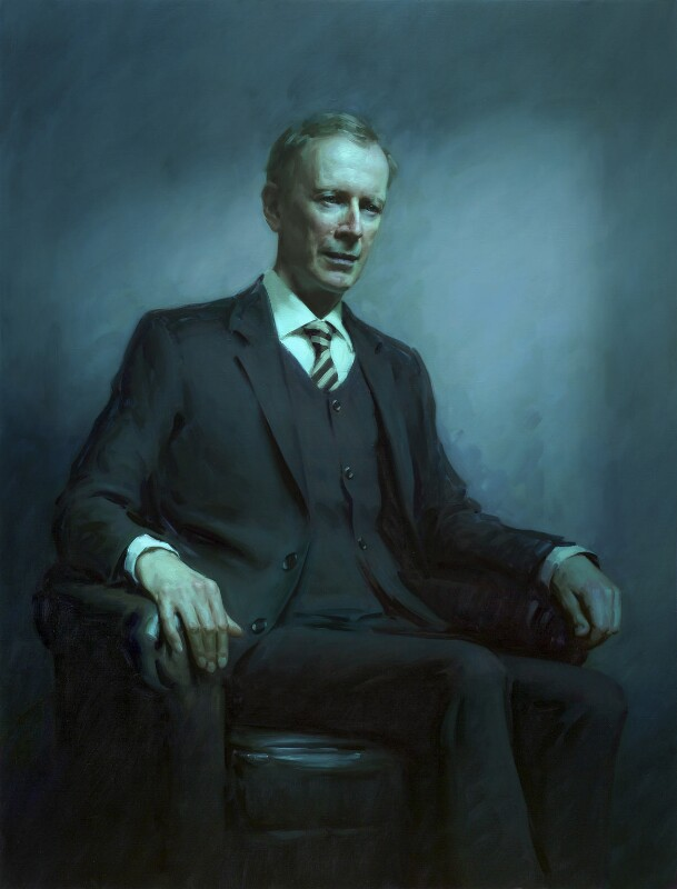 Sir Andrew John Wiles, by Rupert Alexander, 2015 - NPG 6994 - © National Portrait Gallery, London