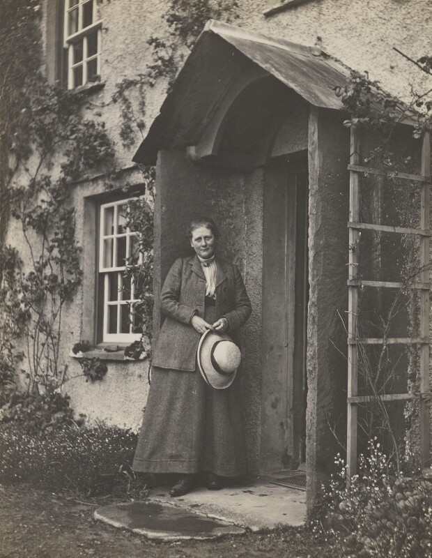 Beatrix Potter (Mrs Heelis), by Charles G.Y. King, May 1913 - NPG P1825 - © National Portrait Gallery, London
