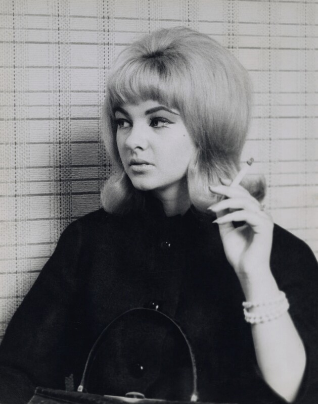 Mandy Rice-Davies, by St Cross Features, 1963 - NPG x137327 - © reserved; collection National Portrait Gallery, London