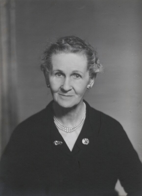 NPG x185639; Angela Thirkell - Portrait - National Portrait Gallery