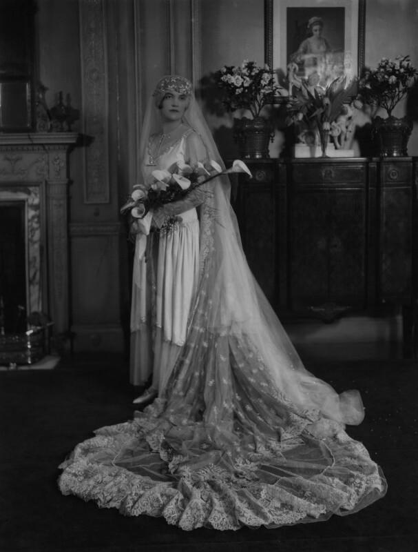 Yolande Katherine Rosabelle Turnor (née Pepys), by Lafayette, 20 February 1928 - NPG x184601 - © National Portrait Gallery, London