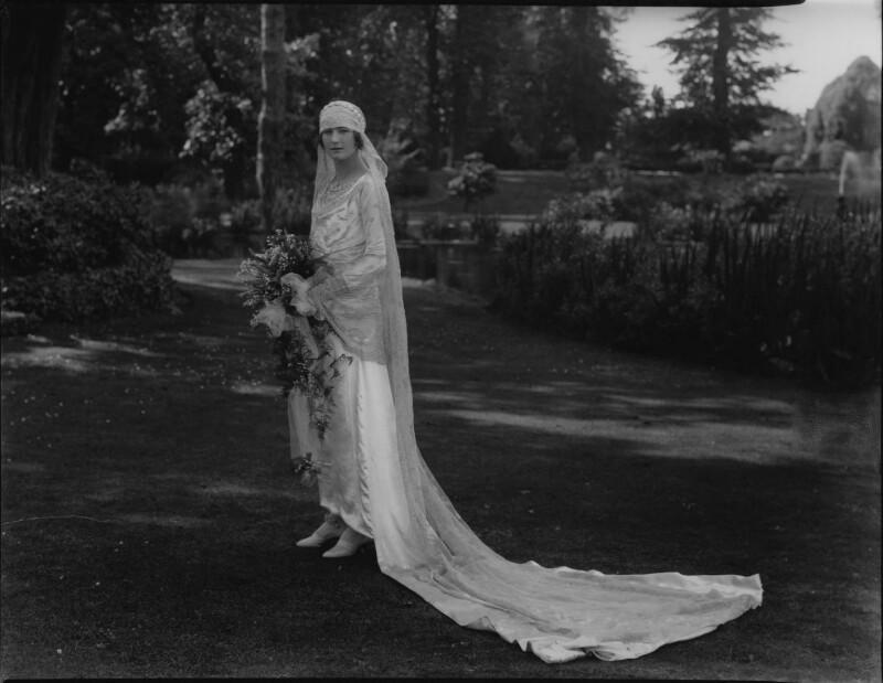 Eileen Benbow Gore Lloyd (née Bird), by Lafayette (Lafayette Ltd), 28 August 1928 - NPG x184605 - © National Portrait Gallery, London