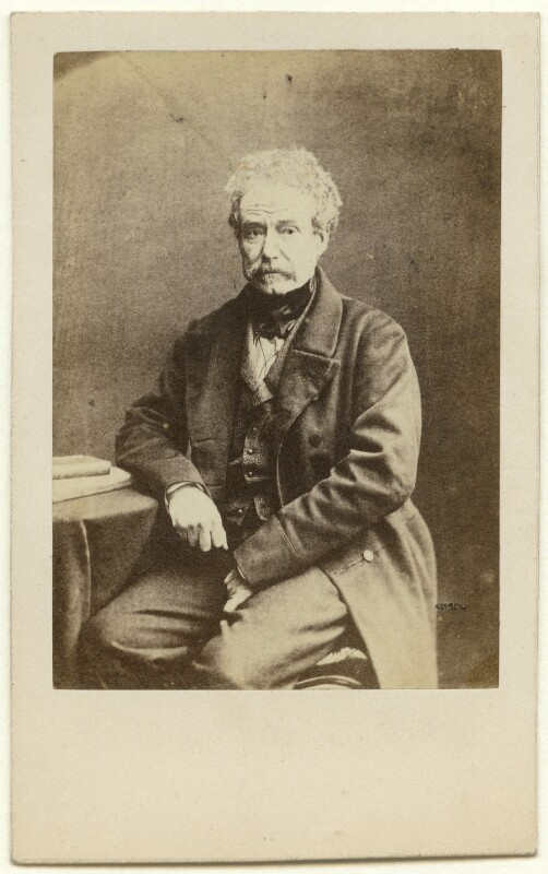 Colin Campbell, 1st Baron Clyde, by (George) Herbert Watkins, 1857 - NPG x137345 - © National Portrait Gallery, London