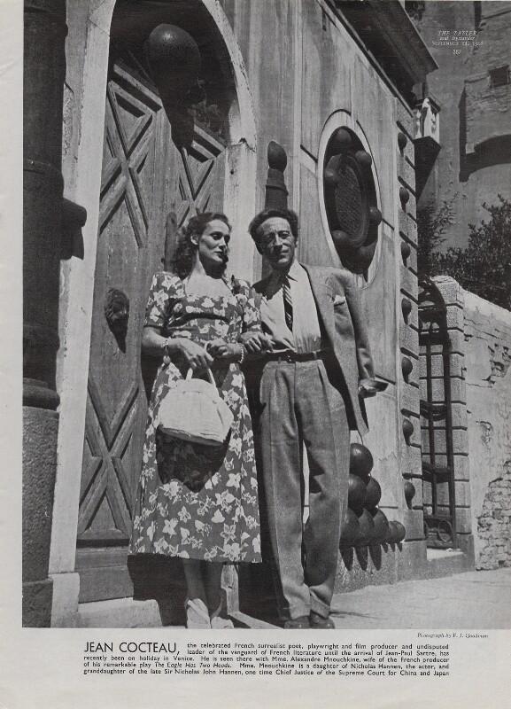 Jean Cocteau eyes