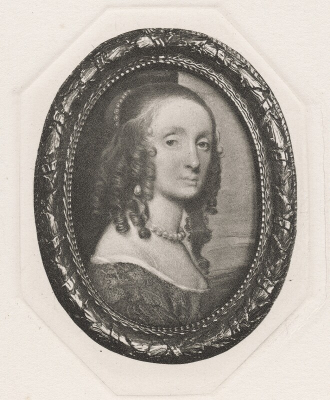 Possibly Princess Elizabeth, after Samuel Cooper, published 1902 (circa 1650) - NPG D42686 - © National Portrait Gallery, London