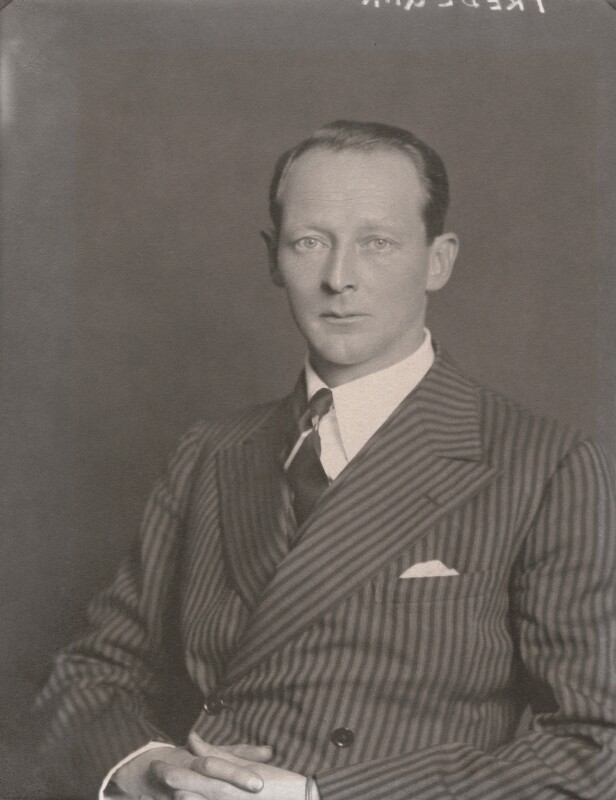 Evan Frederic Morgan, 2nd Viscount Tredegar, by Walter Stoneman, 1934 - NPG x185733 - © National Portrait Gallery, London