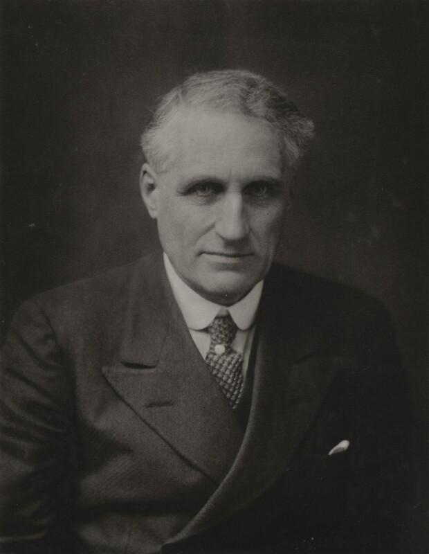 Sir Charles Philips Trevelyan, 3rd Bt, by Walter Stoneman, 1930 - NPG x185743 - © National Portrait Gallery, London
