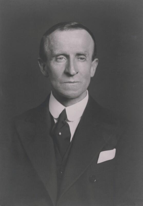 John Buchan, 1st Baron Tweedsmuir, by Walter Stoneman, 1935 - NPG x185779 - © National Portrait Gallery, London