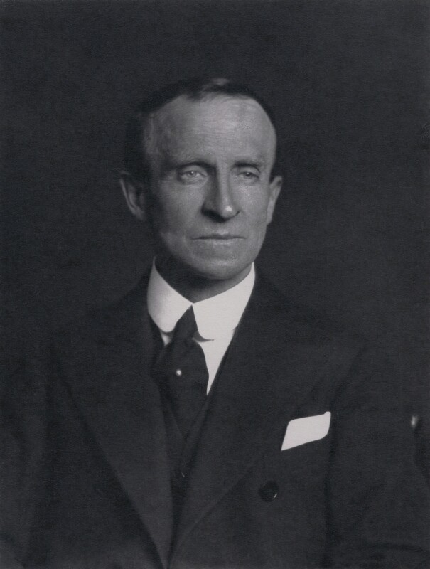 John Buchan, 1st Baron Tweedsmuir, by Walter Stoneman, 1935 - NPG x185780 - © National Portrait Gallery, London