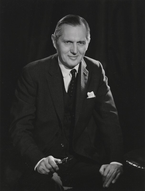 Leonard John Dean Wakely, by Walter Bird, 16 November 1965 - NPG x185856 - © National Portrait Gallery, London