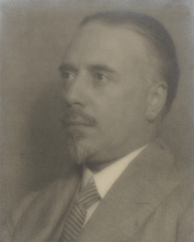 Sir Thomas Beecham, 2nd Bt, by Man Ray, and by  Curtis Moffat, early 1920s - NPG P1827 - © Man Ray Trust/ADAGP, Paris and DACS, London 2018