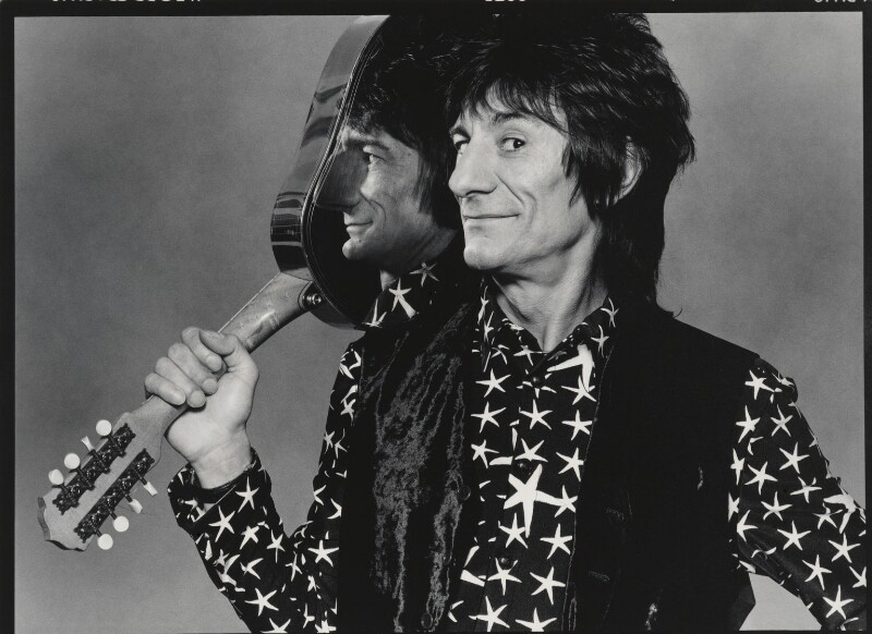 Ronnie Wood, by Bob Carlos Clarke, 1996 - NPG x137384 - © Panic Pictures
