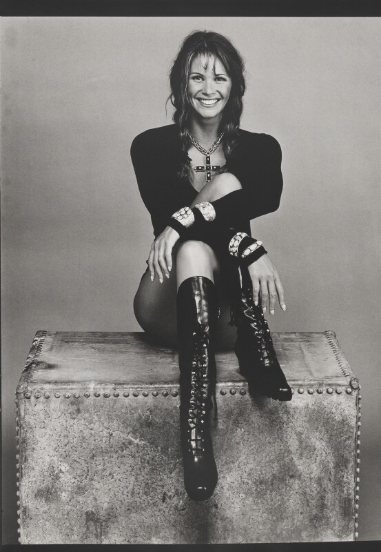Elle Macpherson, by Bob Carlos Clarke, 1993 - NPG x137386 - © Panic Pictures
