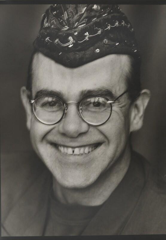 Elton John, by Bob Carlos Clarke, 1991 - NPG x137391 - © Panic Pictures