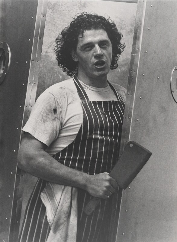 Marco Pierre White, by Bob Carlos Clarke, 1990 - NPG x137392 - © Panic Pictures