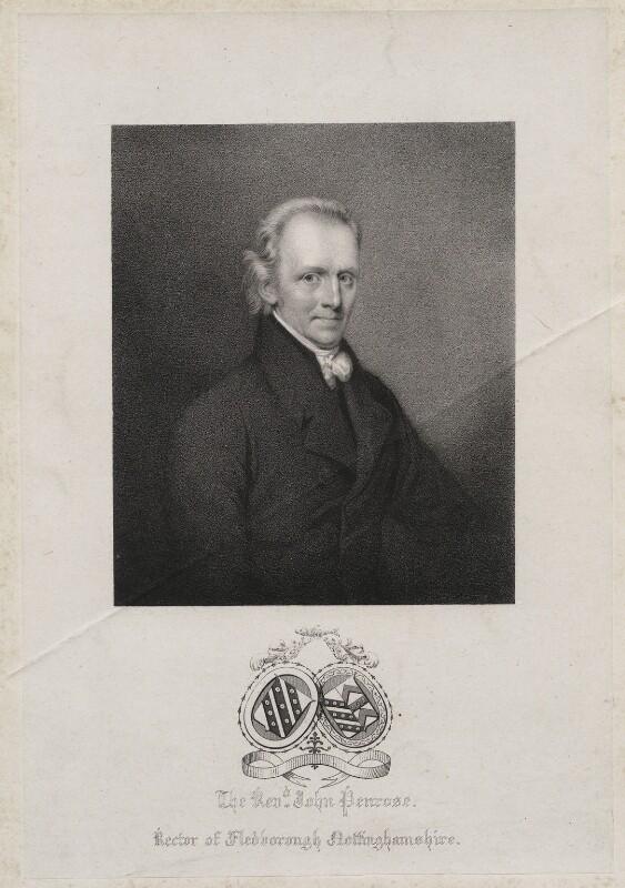John Penrose, by William Sharp, printed by  Charles Joseph Hullmandel, circa 1825-1839 - NPG D42723 - © National Portrait Gallery, London