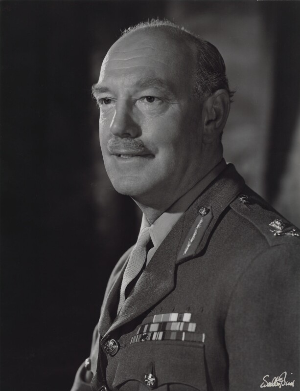 Sir John Francis Worsley, by Walter Bird, 22 August 1963 - NPG x186292 - © National Portrait Gallery, London