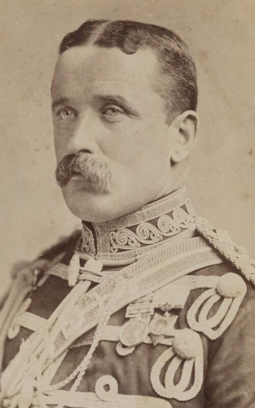 John Denton Pinkstone French, 1st Earl of Ypres, by Sidney Cooper Weston, for  Lambert Weston & Son, 1890s - NPG P1700(48b) - © National Portrait Gallery, London