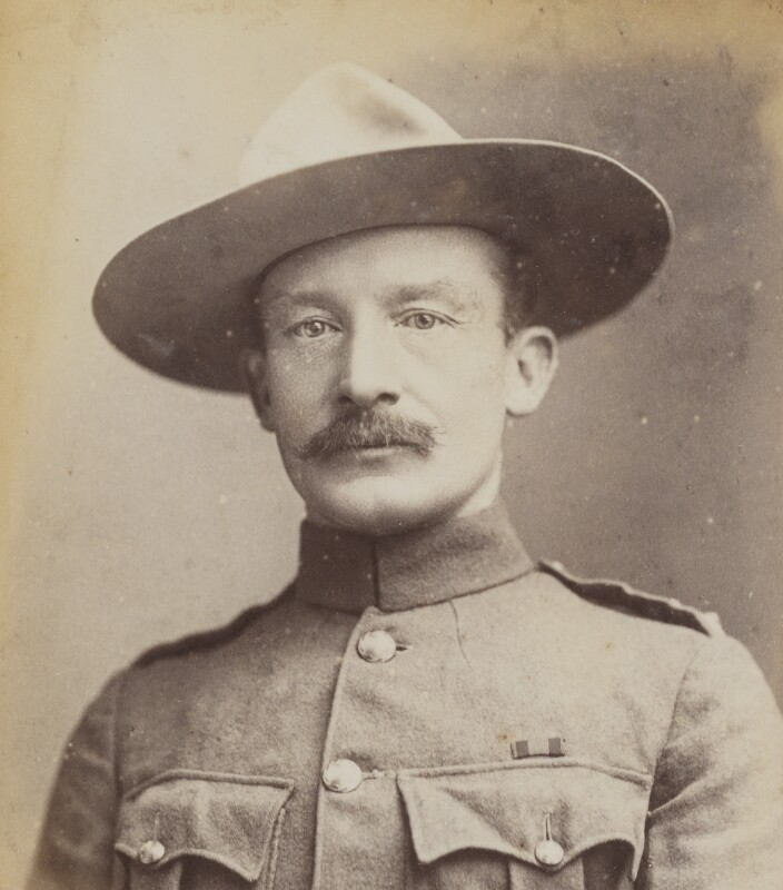 Robert Baden-Powell, by Francis Henry Hart, for  Elliott & Fry, 1896 - NPG P1700(49a) - © National Portrait Gallery, London