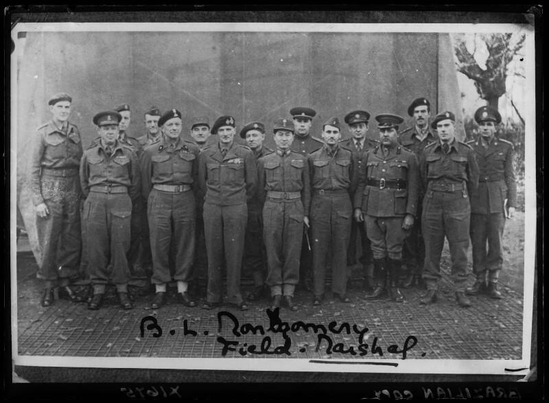 Bernard Law Montgomery, 1st Viscount Montgomery of Alamein, by Walter Stoneman, copied December 1944 - NPG x186983 - © National Portrait Gallery, London