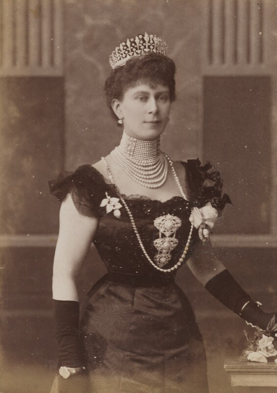 Queen Mary, by W. & D. Downey, 1901 - NPG P1700(57b) - © National Portrait Gallery, London