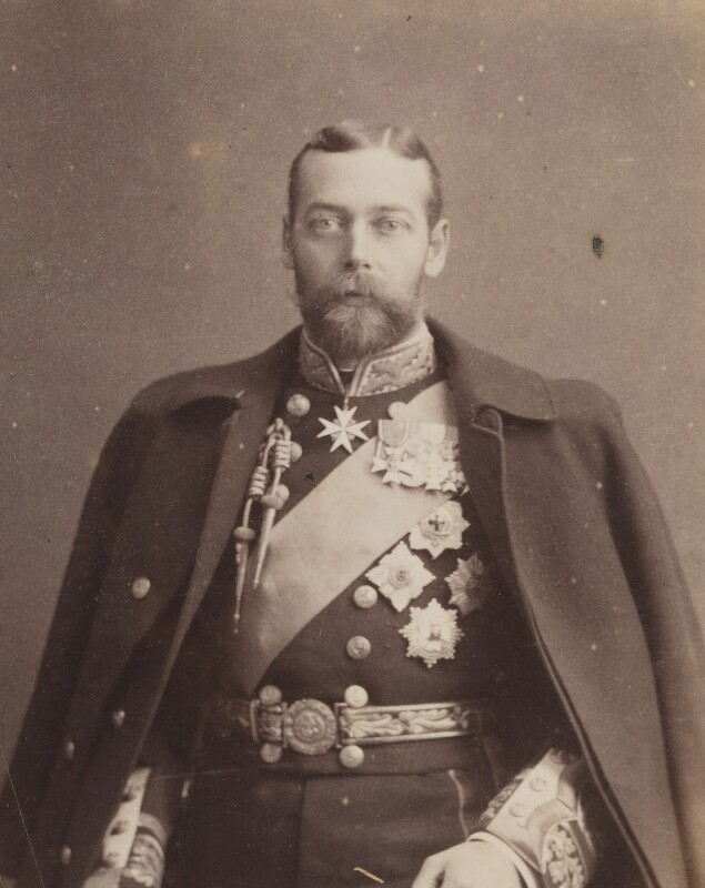 King George V, by Unknown photographer, circa 1901 - NPG P1700(57c) - © National Portrait Gallery, London