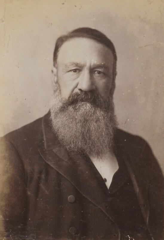Petrus Jacobus Joubert, by Elliott & Fry, 1890 - NPG P1700(60a) - © National Portrait Gallery, London