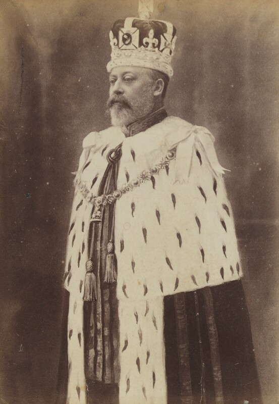 King Edward VII, possibly by W. & D. Downey, 9 August 1902 - NPG P1700(62a) - © National Portrait Gallery, London