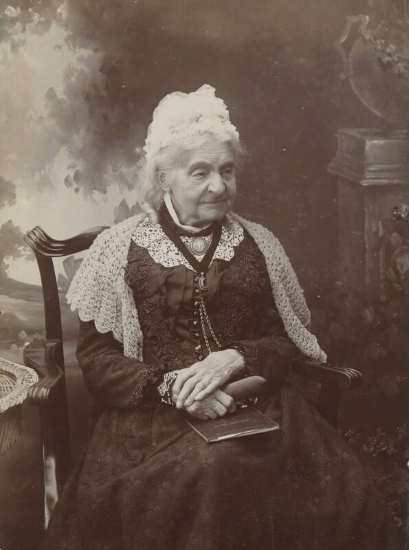 Margaret Ann Neve (née Harvey), by Thomas Alfred Grut, 14 July 1902 - NPG P1700(65a) - © National Portrait Gallery, London