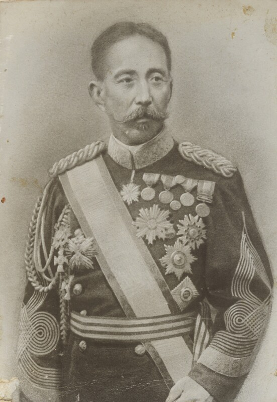 Admiral Natysu, by Unknown photographer, 1904 or before - NPG P1700(74a) - © National Portrait Gallery, London