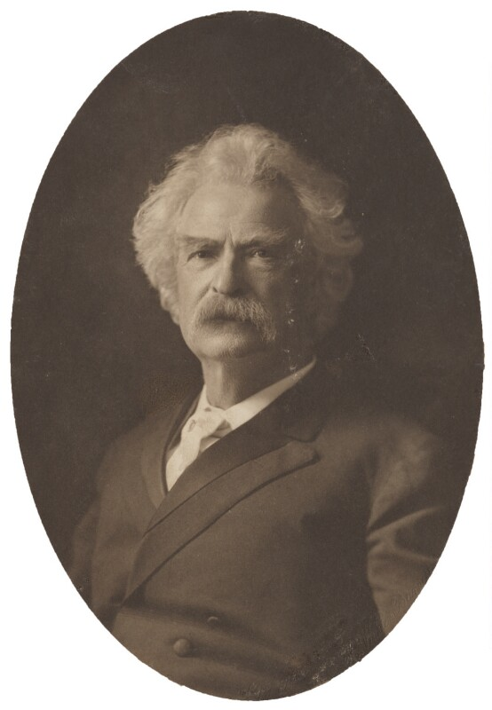 Mark Twain, by H. Walter Barnett, 1895-1907 - NPG P1700(84a) - © National Portrait Gallery, London