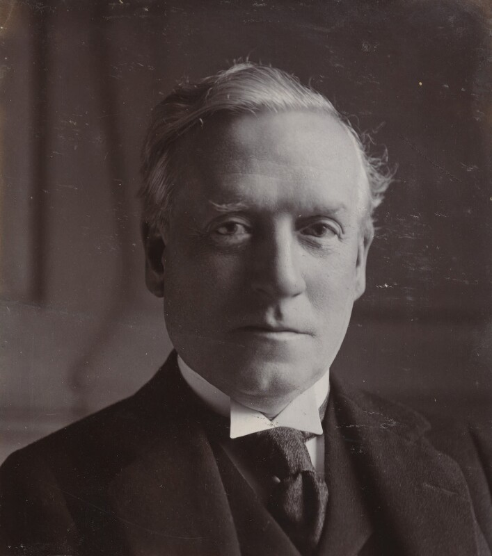 Herbert Henry Asquith, 1st Earl of Oxford and Asquith, by Reginald Haines, circa 1907 - NPG P1700(86a) - © National Portrait Gallery, London