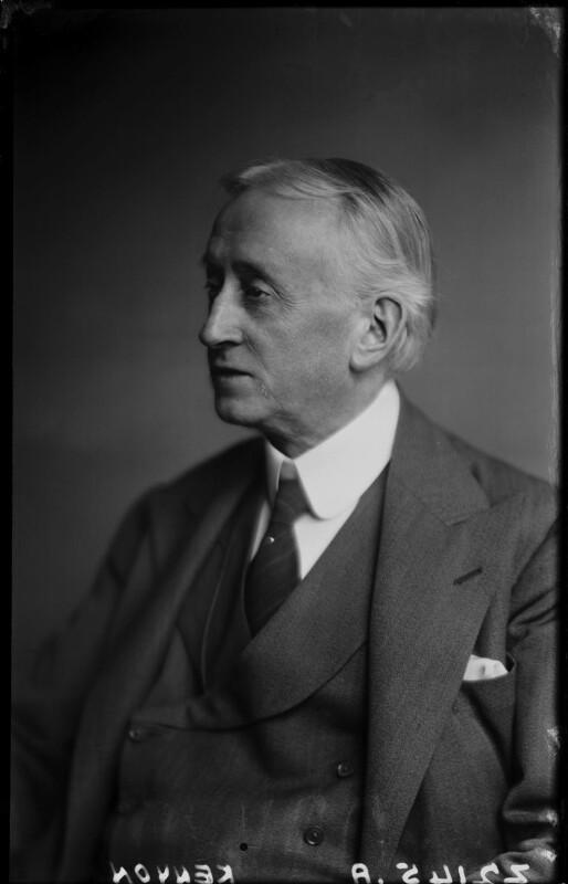 Sir Harold Vaughan Kenyon, by Walter Stoneman, December 1945 - NPG x187645 - © National Portrait Gallery, London